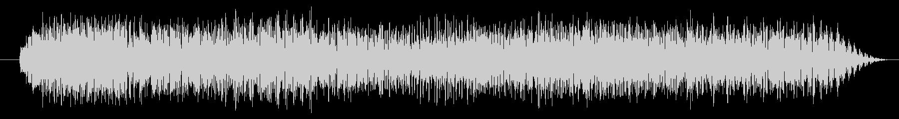 エレクトリックギター:パワーリフの未再生の波形