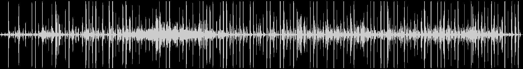 シンセのフィルター。ミステリアス。逆。の未再生の波形
