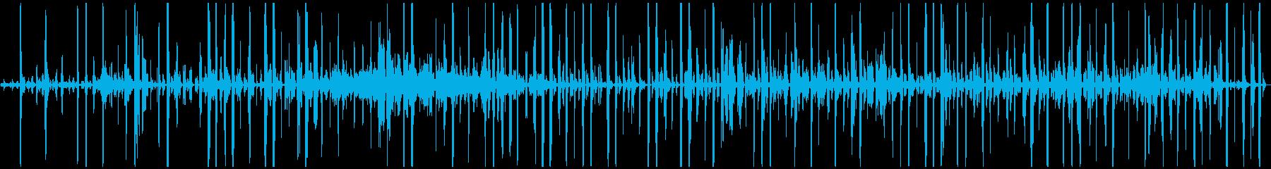 シンセのフィルター。ミステリアス。逆。の再生済みの波形