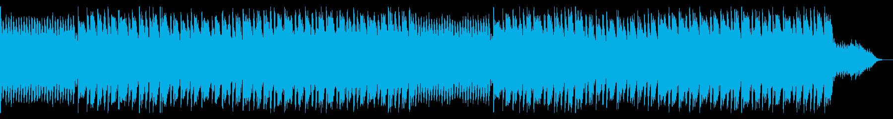 激しく美しいテクスチャーの再生済みの波形