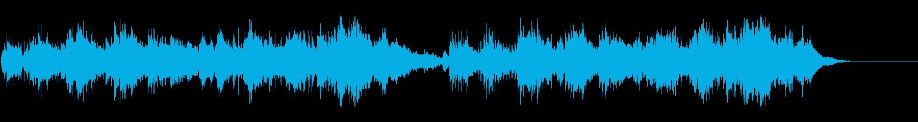 童話の世界が広がる優しいアンビ風サウンドの再生済みの波形