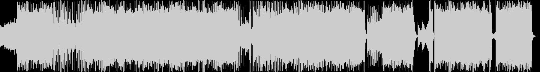 バトルでダークで中二なアニソン風BGMの未再生の波形