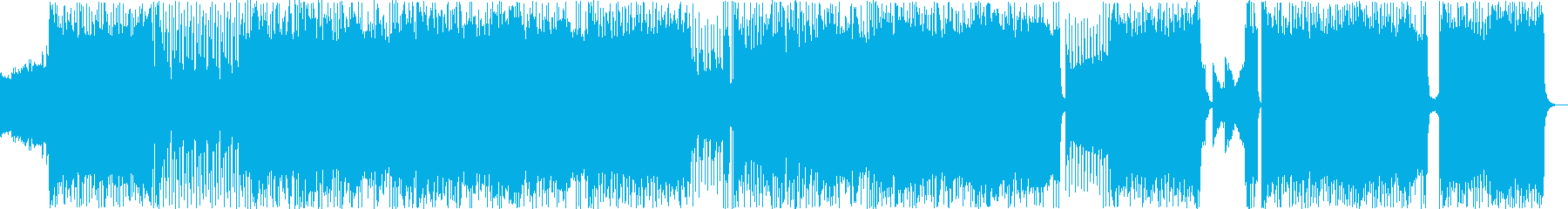 バトルでダークで中二なアニソン風BGMの再生済みの波形