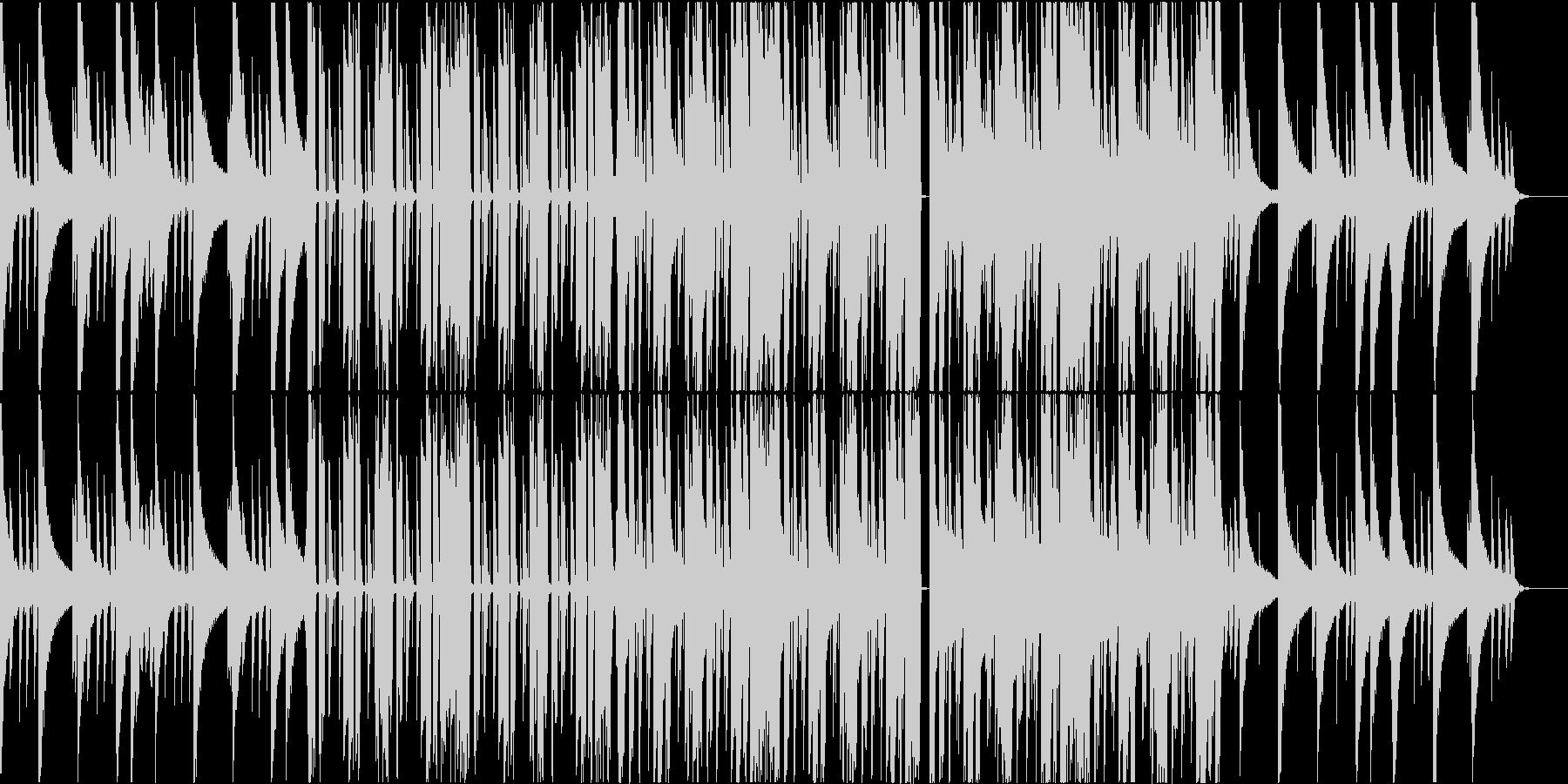 ピアノとカリンバが絶妙なビーチハウスの未再生の波形