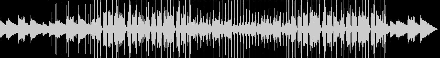 Lo-Fi・綺麗なチルヒップホップの未再生の波形