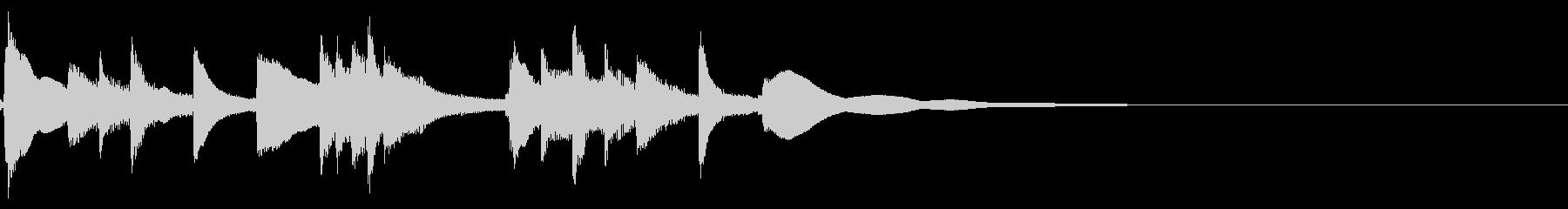 琴☆アイキャッチ3の未再生の波形