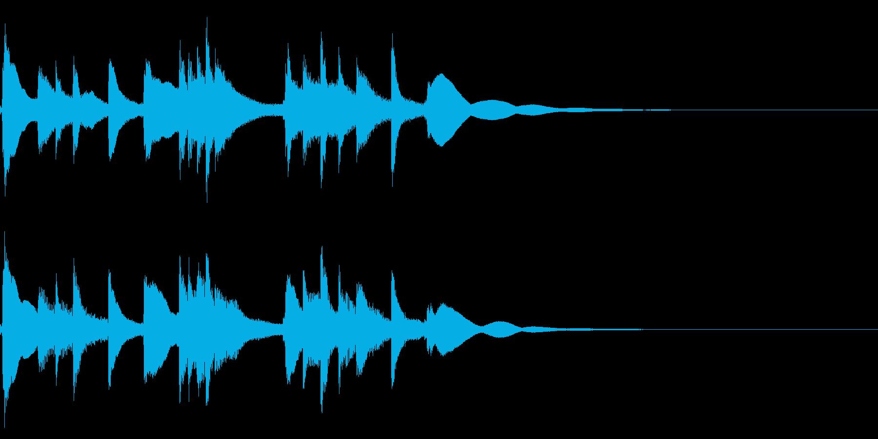 琴☆アイキャッチ3の再生済みの波形