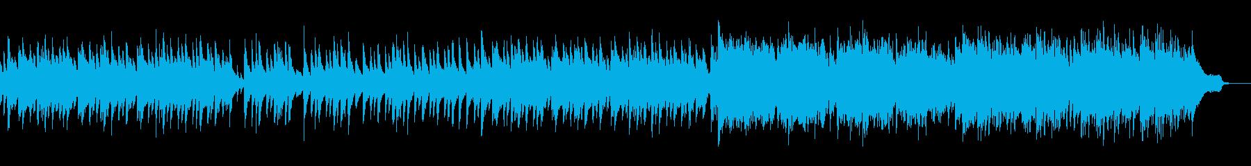 悲しく切ない和風曲の再生済みの波形