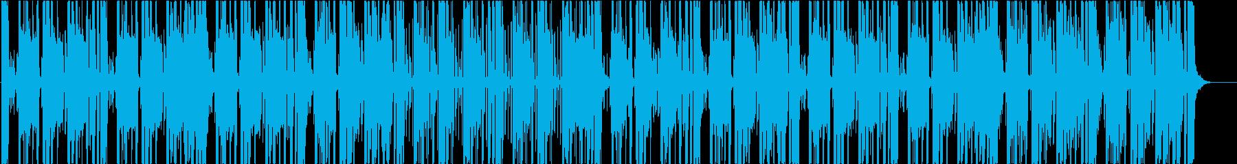 ヒップホップ、スタイリッシュ、モダンの再生済みの波形