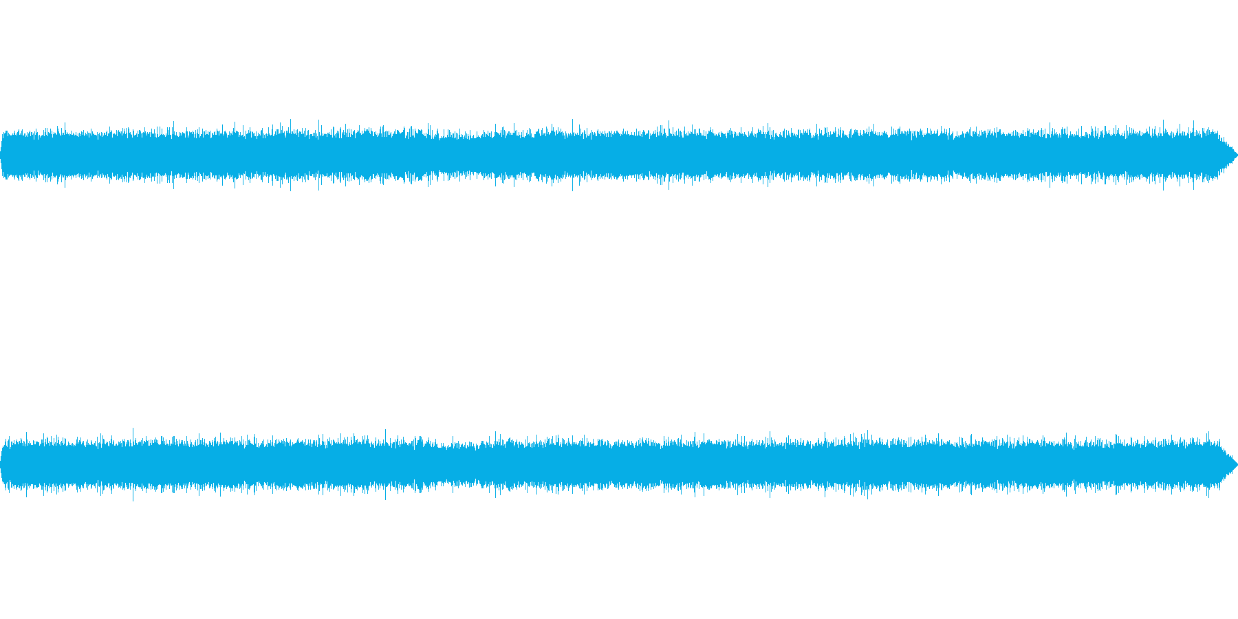公園で秋虫(鈴虫、コオロギ)を収録の再生済みの波形