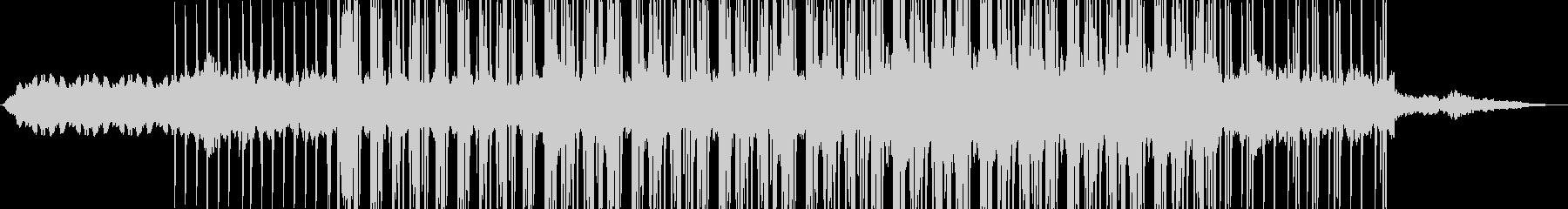 ロボットのマーチ/民族音楽的/機械音の未再生の波形