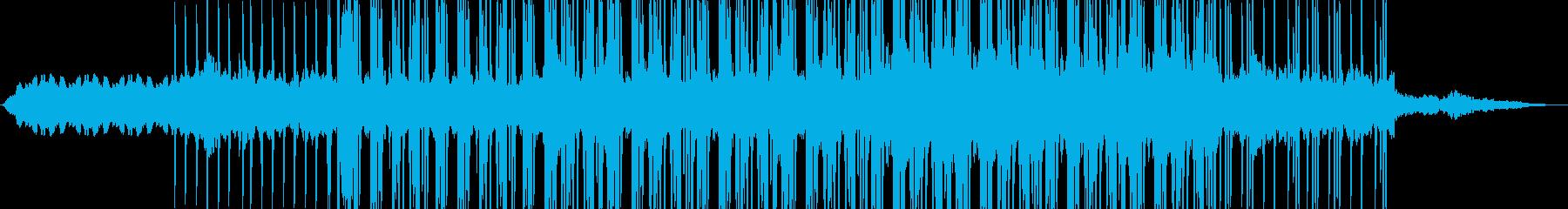ロボットのマーチ/民族音楽的/機械音の再生済みの波形