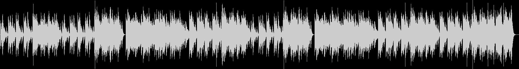 ウインターワンダーランドピアノBGM♪の未再生の波形