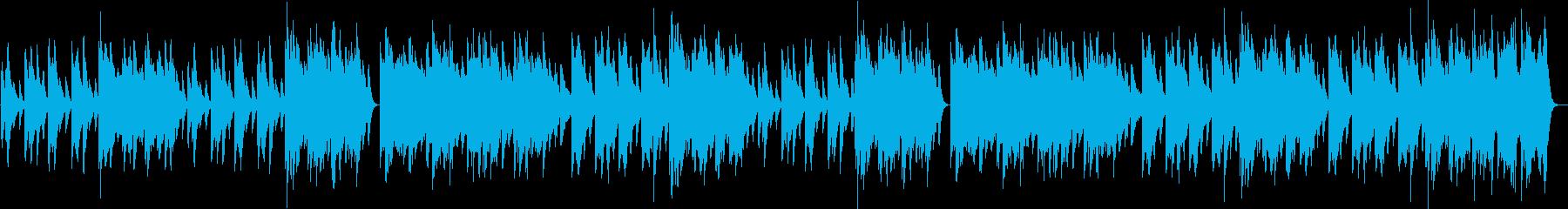 ウインターワンダーランドピアノBGM♪の再生済みの波形