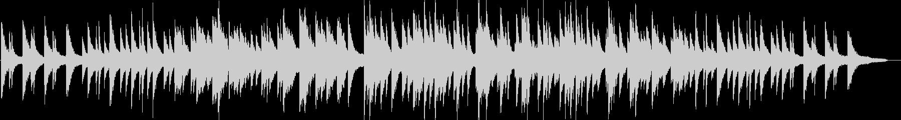 リラックス・ピアノソロ・イベント・映像の未再生の波形