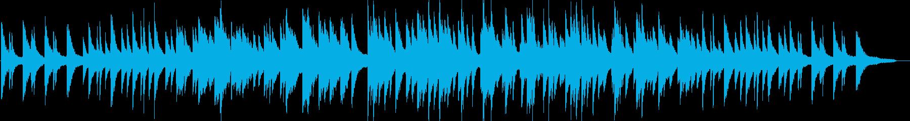 リラックス・ピアノソロ・イベント・映像の再生済みの波形
