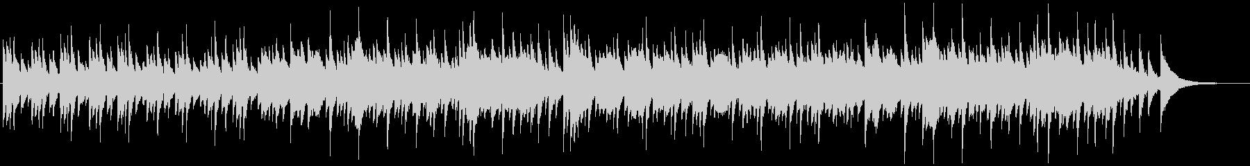 回想シーンっぽいピアノ曲の未再生の波形