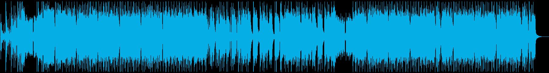 疾走感を重視したスラッシュメタルの再生済みの波形