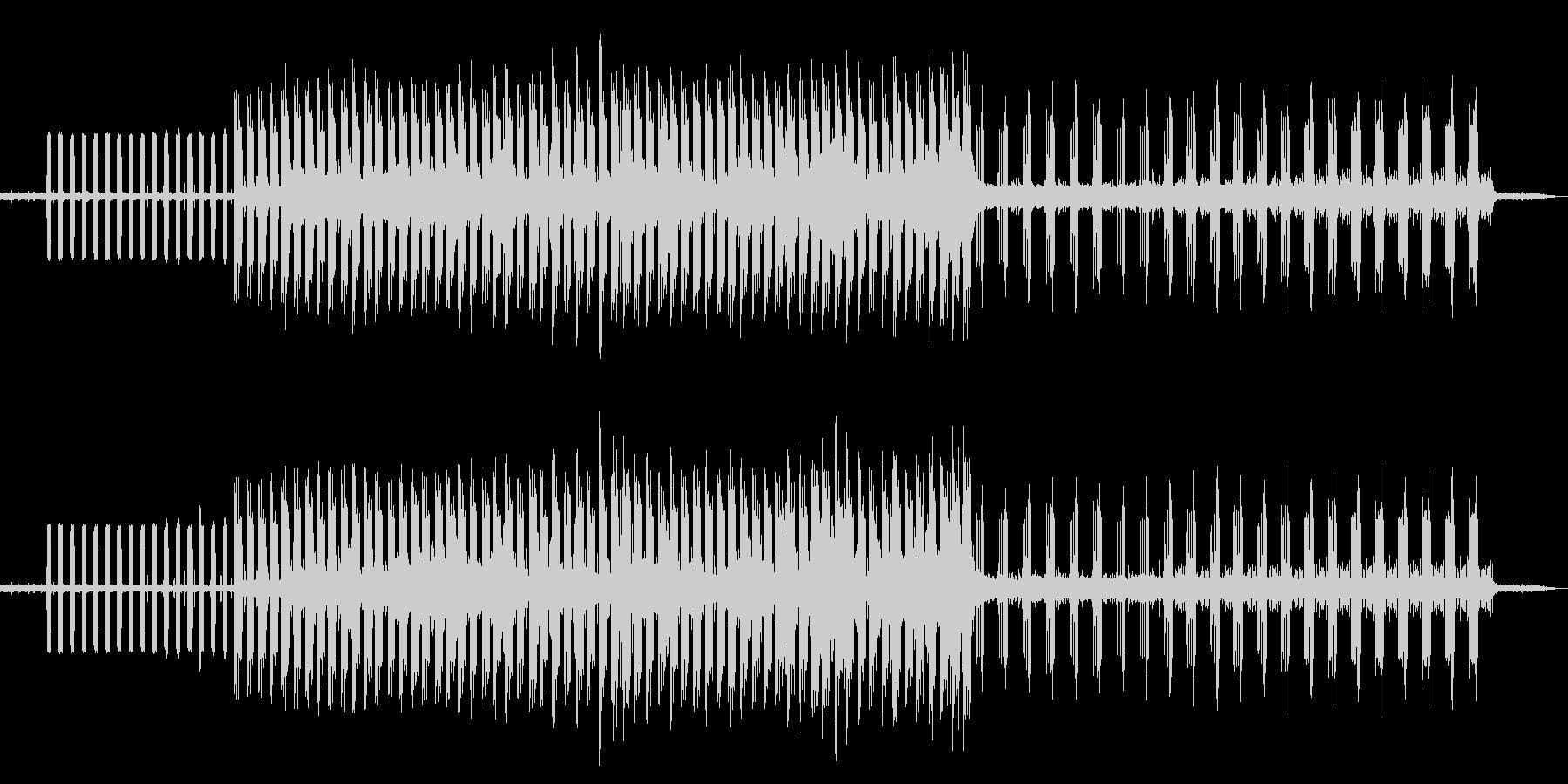 ピアノ クール 個性的 アートな音楽の未再生の波形