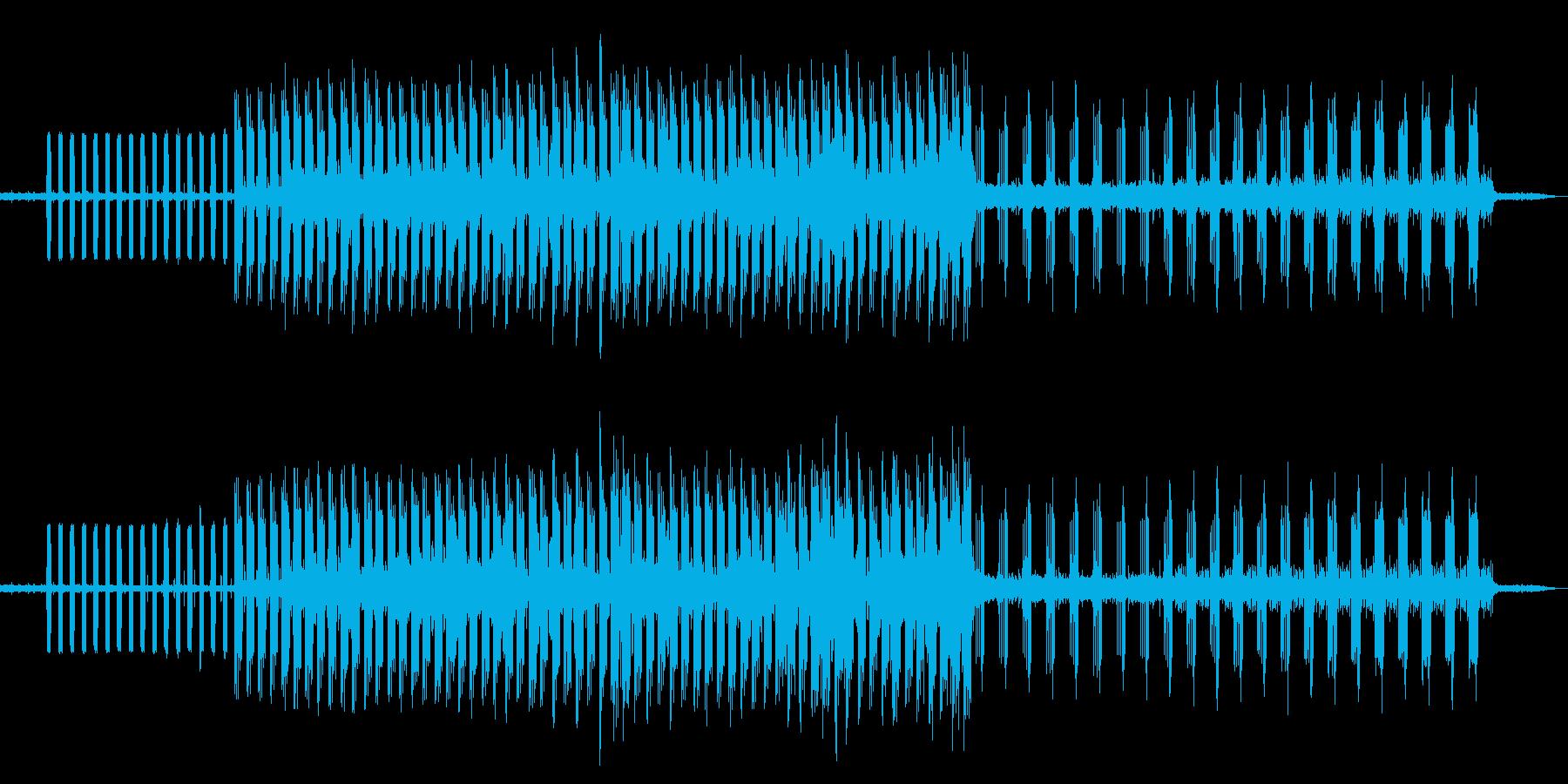 ピアノ クール 個性的 アートな音楽の再生済みの波形