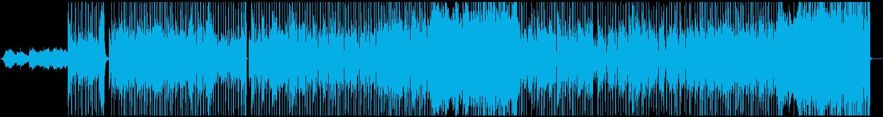 ジャズフュージョンインスト角のある...の再生済みの波形