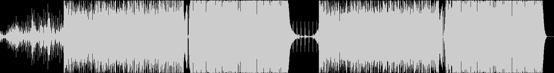 和風・日本・TRAP・三味線・尺八の未再生の波形