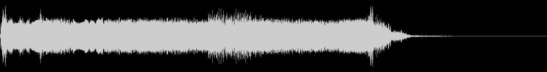 歪んだリック6の未再生の波形