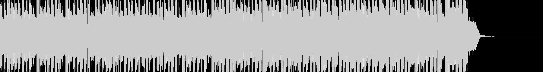 シンキングタイム:テクノダンス30秒の未再生の波形