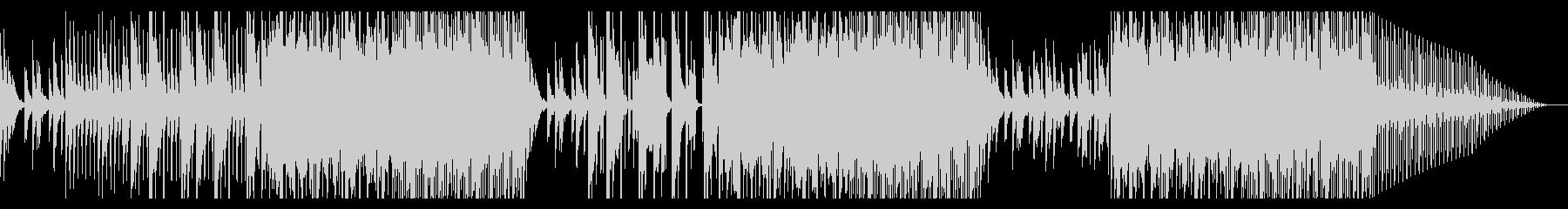 和風ダークヒップホップ4(三味線)の未再生の波形
