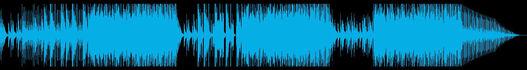 和風ダークヒップホップ4(三味線)の再生済みの波形
