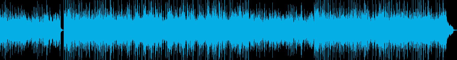 ピアノのオシャレで泣けるポストロックの再生済みの波形