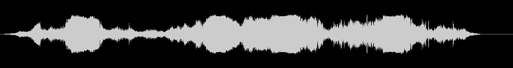 カートインディカー;ターン(4台の...の未再生の波形