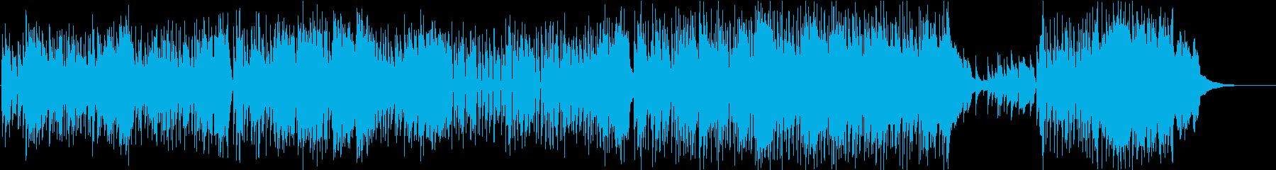 エンドオブヴァケイションの再生済みの波形