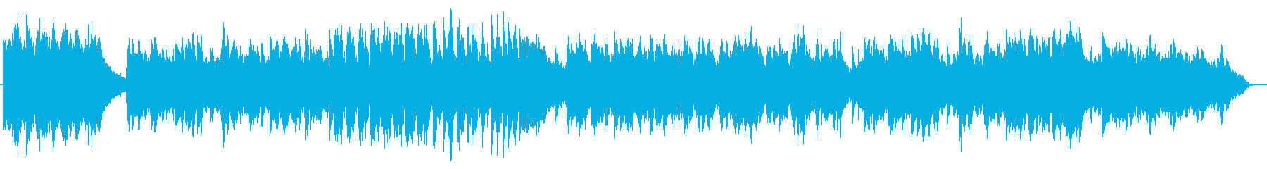 Dramatic instrumental songs by the piano's reproduced waveform