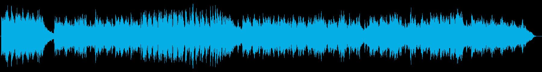 ピアノがドラマチックなインスト曲の再生済みの波形