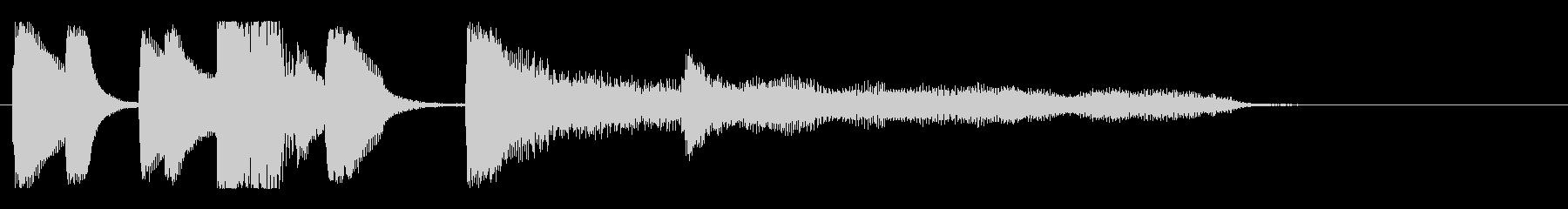 【バードランド2】の未再生の波形