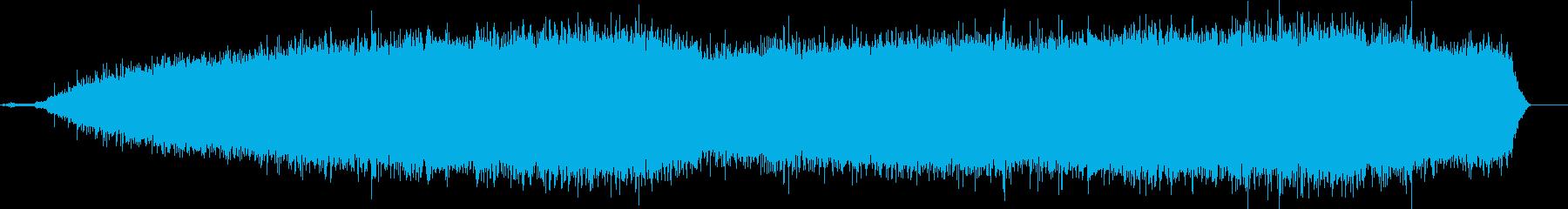 中型セダンスタートエンジン、100...の再生済みの波形
