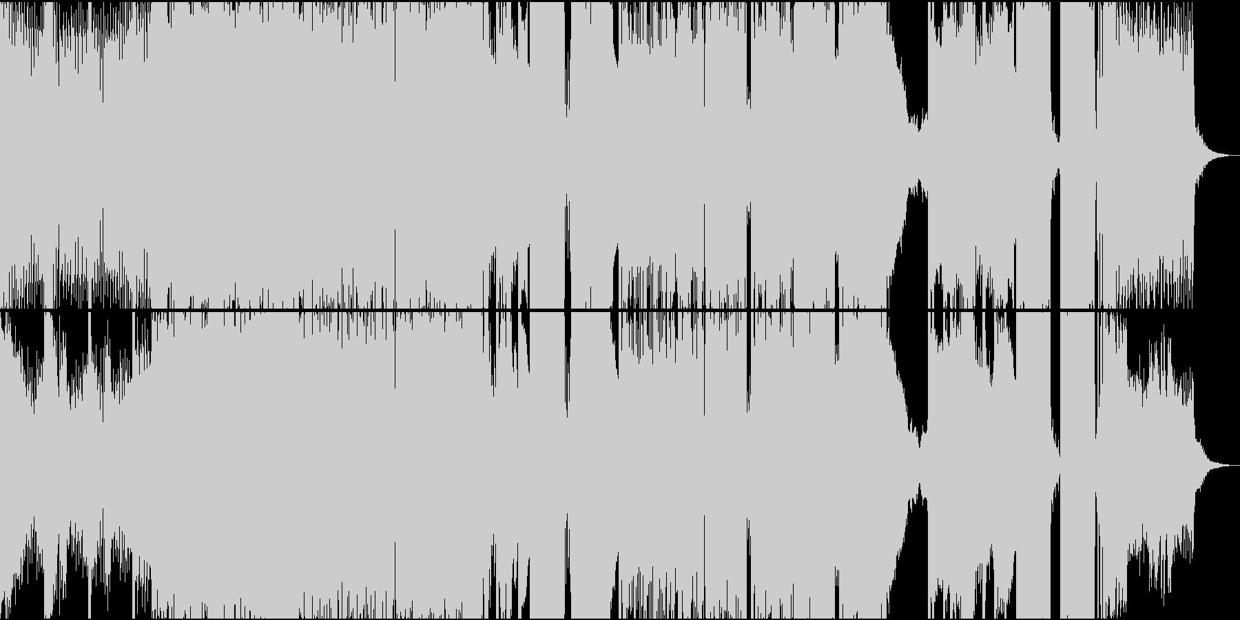 ハウス ダンス プログレッシブ 積...の未再生の波形