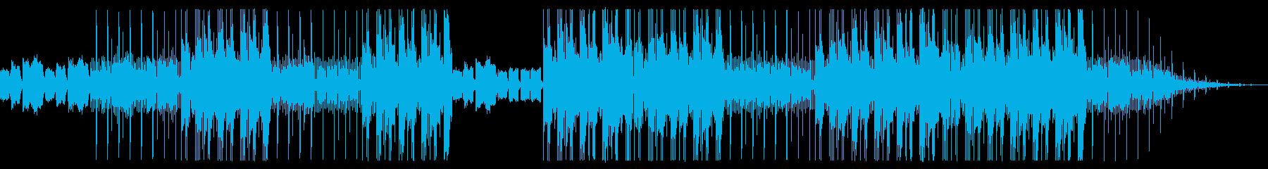 異世界で生き延びるLofiトラップビートの再生済みの波形