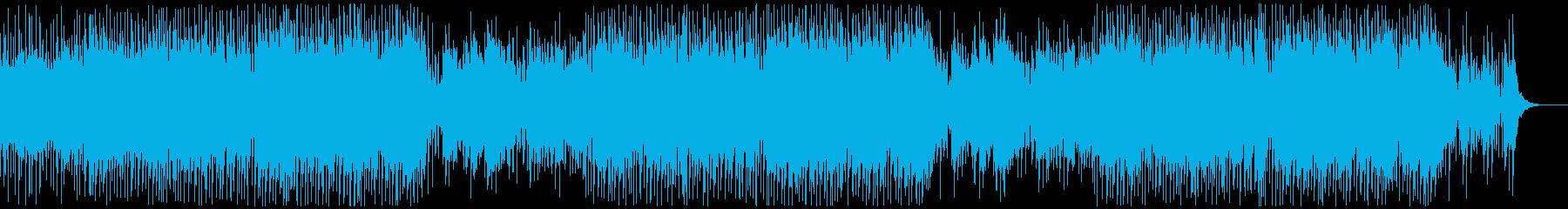 中国風/ポップ・軽快・おしゃれBGMの再生済みの波形
