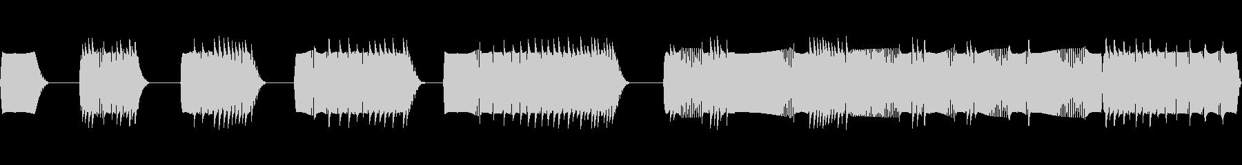 チョップ、インパクト、ヘビー、ファ...の未再生の波形