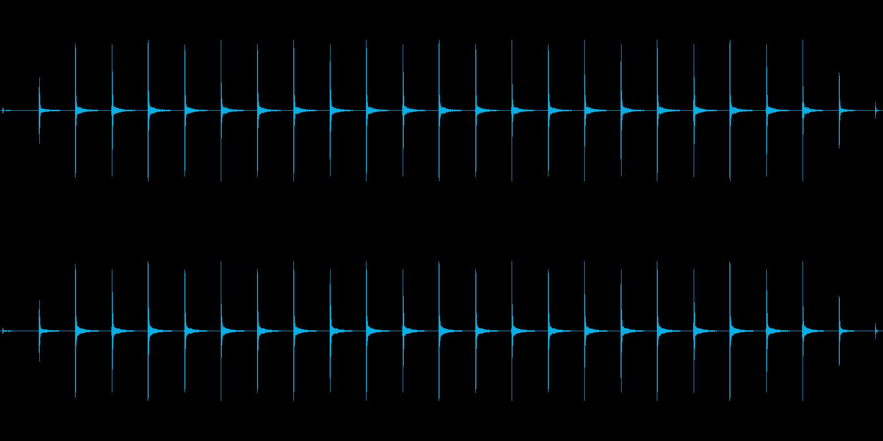 時計 ticktock_44-2_revの再生済みの波形