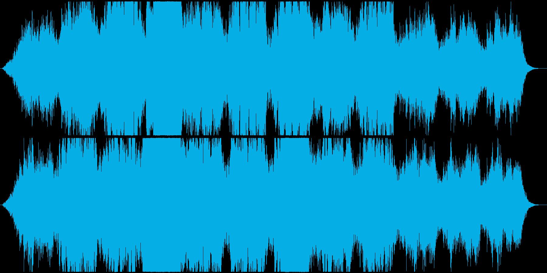 壮大なアンビエント シンセ・幻想的の再生済みの波形