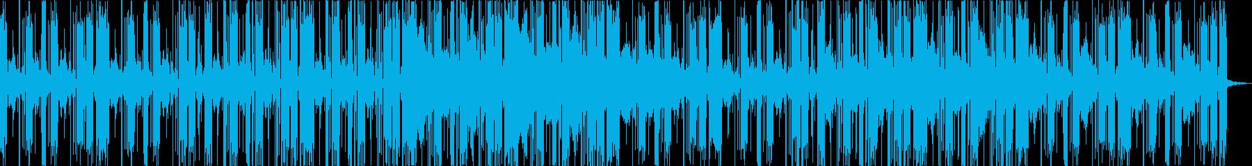 のんびりとしたエレクトロニカ。の再生済みの波形