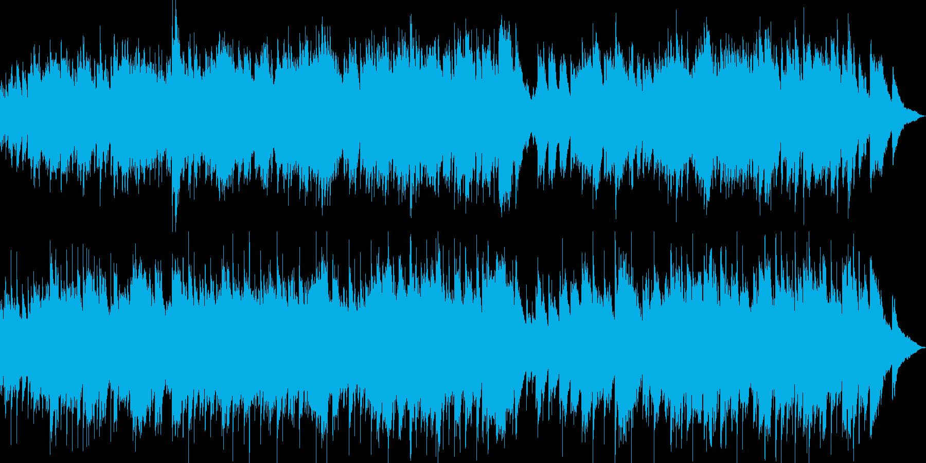 healingピアノ爽やかに子供が走るの再生済みの波形
