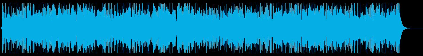 レトロテイストの中華味ある和楽器テクノの再生済みの波形