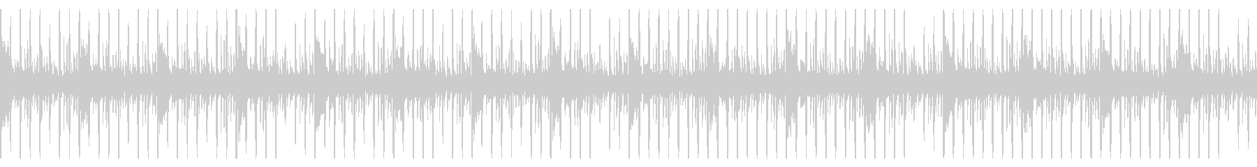 ループ仕様・ニュースヘッドラインBGM1の未再生の波形