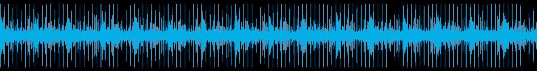 ループ仕様・ニュースヘッドラインBGM1の再生済みの波形