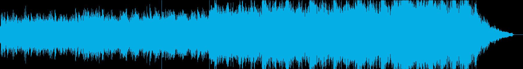 現代的な和風管弦楽①全楽器入りの再生済みの波形