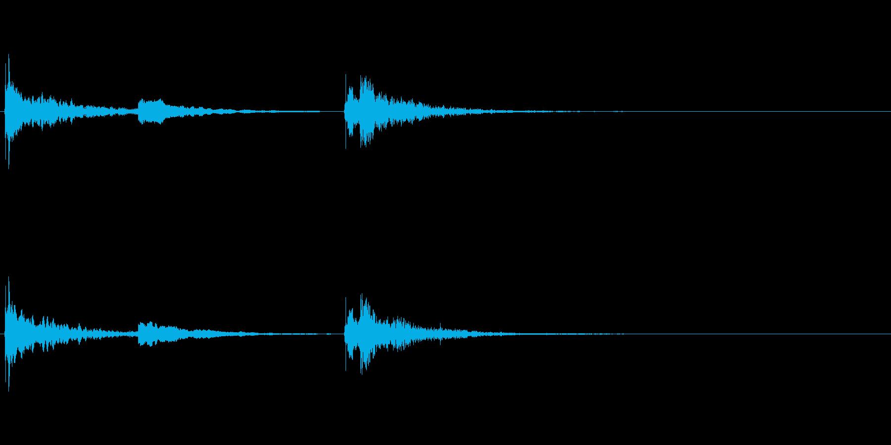 生演奏 琵琶 和風 古典風 残響有#6の再生済みの波形